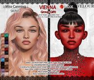 *:: Miss Canning :: [ Vienna Skin Lelutka EVOX ] GROUP GIFT!