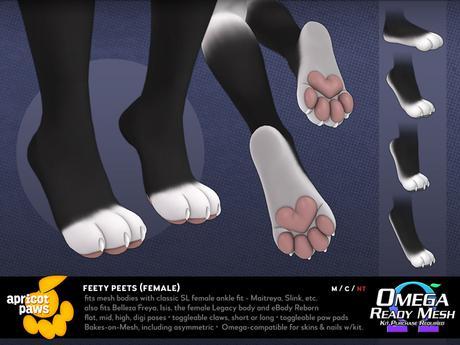 Apricot Paws: Feety Peets (Female)