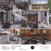 14. Concept} Duplex set. House RARE