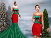 ::TD:: Michelle Mesh Gown ~ Xmas