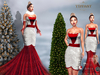 ::TD:: Michelle Mesh Gown ~ Red