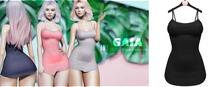Gaia - Amy Dress BLACK