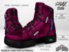 :PM: Cyberpunk Boots Shax - Pink