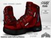 :PM: Cyberpunk Boots Shax - Red