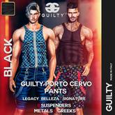 Guilty 065 Porto Cervo Pants [Black]