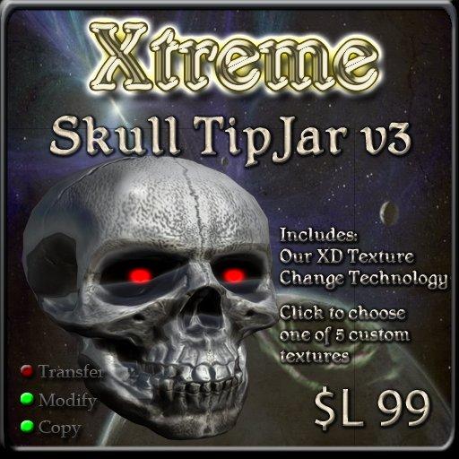 Xtreme Skull TipJar  v3