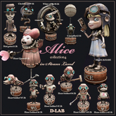 D-LAB ALICE collection4 in steamland (FULL SET)
