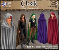 *LightStar - Cloak - Color Changeable