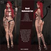 No Cabide :: Devil Nahemah Set (add)