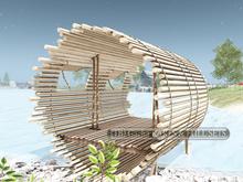 01. Concept} Bali Cabin. RARE
