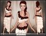 [Wishbox] Aphrodisia II (Red & White) - Valentine's Day Fantasy Goddess Dress Silks