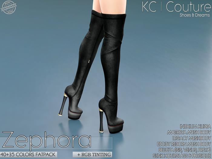 -KC- ZEPHORA BOOTS - 40 +35 COLORS FATPACK