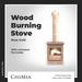 ChiMia:: Wood Burning Stove (Rose Gold)