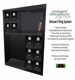 ProLine Deluxe File System Bookshelf - Black