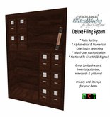 ProLine Deluxe File System Bookshelf - Wood