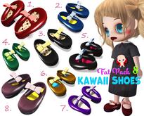 [ CHIBIT ] - Kawaii / Cute Shoes - FAT PACK 8