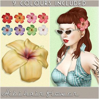 /artilleri/ Hibi hair flower