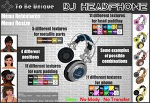 To Be Unique - DJ HEADPHONE (BOX)