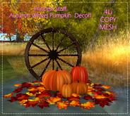 .Princess Stuff. [Autumn Pumkin Decor] Wheel _add