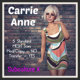 SUBCULTURE X - Carrie Anne Dress