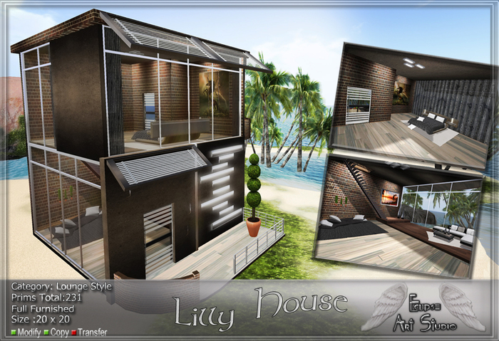 *PROMO* Lilly House ( Full Furnished )