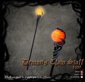 Demon's Claw Staff