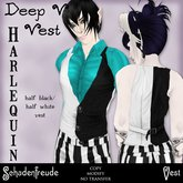Schadenfreude Harlequin Deep V Vest (Marketplace Exclusive)
