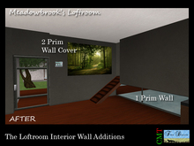 Linden Home Room Divider for the Loftroom in Meadowbrook