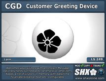 Customer Greeting Device
