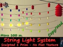 333 - Sculpted String Light System