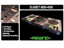 REWIND DJSET CONSOLE 850-400