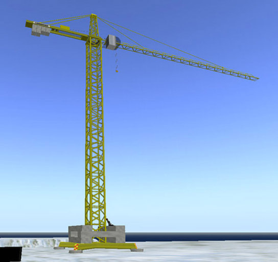 Tower Crane - Static model