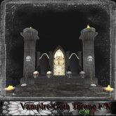 Vampire/Goth Throne F&M
