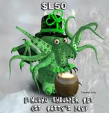 Cthulhu Shoulder Pet St. Patrick's Day