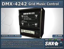 SHX-DMX-4242 - Grid Parcel Music Control