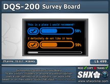 SHX - Dichotomous Question Survey Board - DQS-200