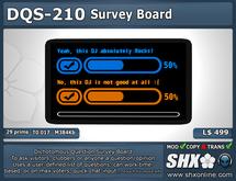 SHX - Dichotomous Question Survey Board - DQS-210