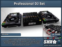 SHX - Professional DJ Set