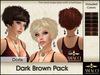 Amacci Hair ~ Doris - Dark Brown Pack