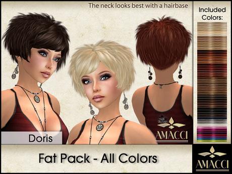 Amacci Hair ~ Doris - Fat Pack All Colors
