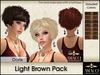Amacci Hair ~ Doris - Light Brown Pack