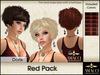 Amacci Hair ~ Doris - Red Pack
