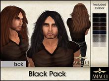 Amacci Hair ~ Isak - Black Pack