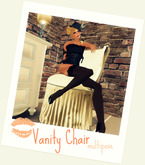 """[LA] LOSTANGEL:  """" Vanity Chair"""" - Multipose from """"Allure Retro' Collection"""""""