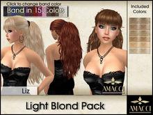 Amacci Hair ~ Liz - Light Blond Pack