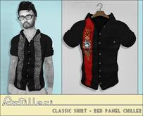 /artilleri/ Classic shirt - red panel chiller