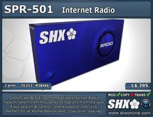 SHX - SHOUTcast & ICEcast Radio - SPR-501