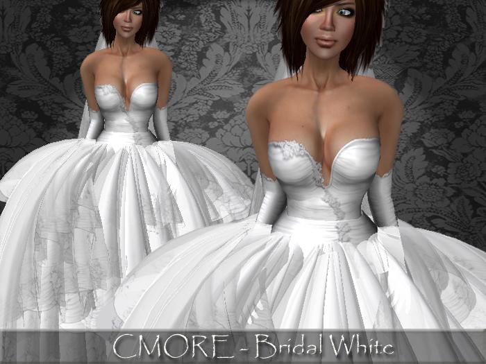 CMORE - Bridal White