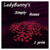 ❤ *••Bunny's Valentine's Store••* -Simply Roses Rug For Your Home and Garden!