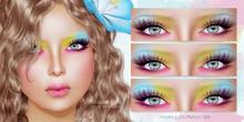 cheLLe (eyeshadow) Rainbow Eyes